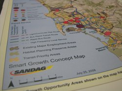 SANDAG unveiled future transportation plans for San Diego County on May 4, 2010.