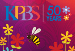 KPBS 50th Anniversary graphic