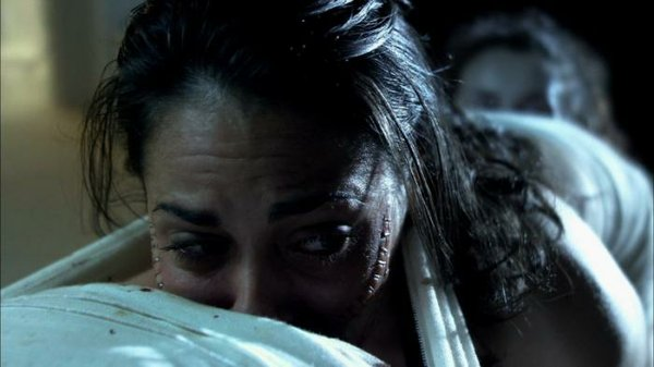 "Ashley C. Williams in ""The Human Centipede"""