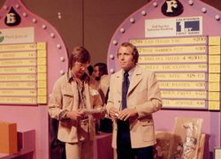 Ken Kramer easily steps into hosting duties during the 1976 KPBS Auction.