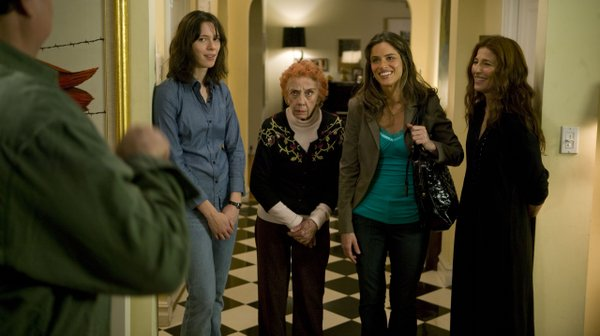 "Rebecca Hall, Ann Guilbert, Amanda Peet and Catherine Keener in ""Please Give"""