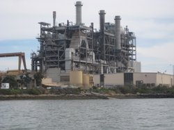 The South Bay Power Plant in Chula Vista is set to be demolished, after shutt...