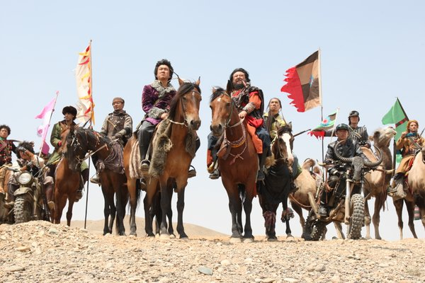 "The Chinese bandits in ""The Good The Bad The Weird"""