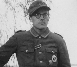 German soldier Walter Guenther on the eve of the invasion of southern Russia,...