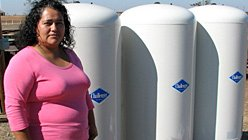 Ana Vargas is among a growing number of Californians whose drinking water is polluted with nitrates -- colorless and odorless contaminants that can cause health problems.