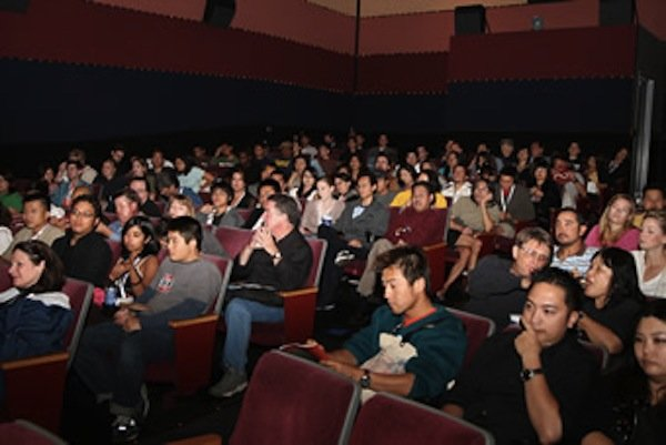 Inside one of the multiplex theaters.