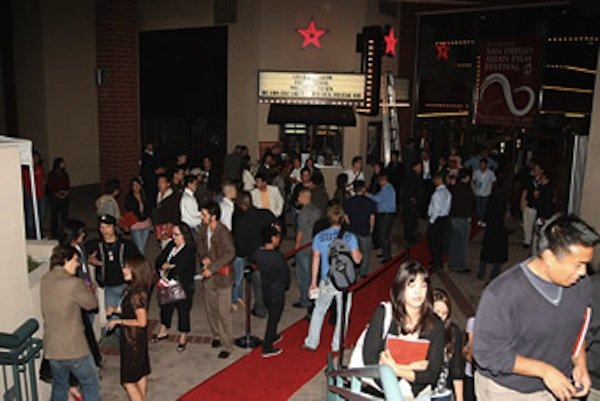 The SDAFF crowd at UltraStar Mission Valley.