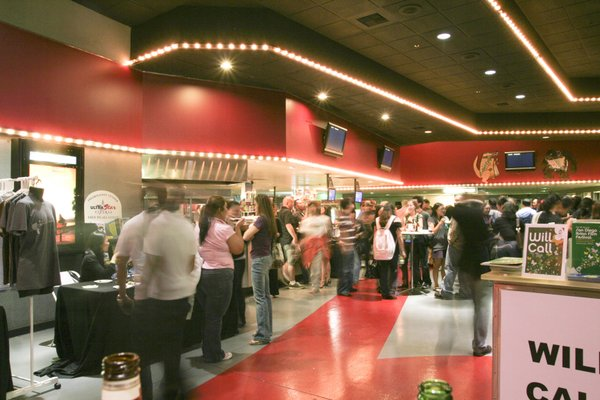 The interior of the UltraStar Mission Valley Theaters at Hazard Center.