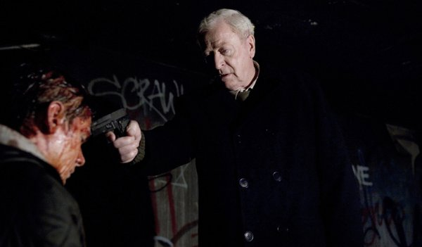 "Michael Caine stars as ""Harry Brown"""