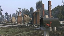 The 2003 wildfires devasted many communities throughout San Diego, including ...