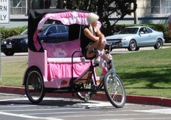 The San Diego City Council voted to establish pedicab parking zones in downtown San Diego on May 25, 2010.