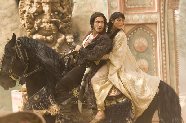 "Jake Gyllenhaal and Gemma Arterton star in the big screen adaptation of the video game ""Prince of Persia: The Sands of Time"""