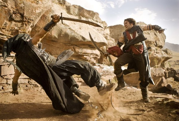 "The film ""Prince of Persia"" tries to imitate the video game action."