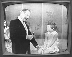 """An image from Art Linkletter's television show """"House Party,"""" which ran from 1952-1970."""