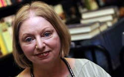 Author Hilary Mantel.
