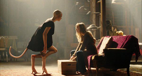 "Delphine Chanéac as Dren and Sarah Polley as Elsa in ""Splice"""