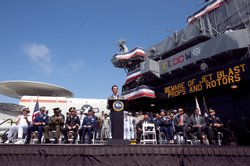 Governor Schwarzenegger launching Operation Welcome Home