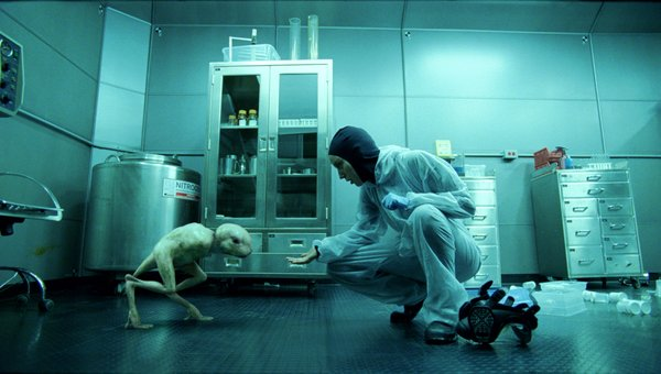 "Dren and scientist Elsa (Sarah Polley) in ""Splice"""