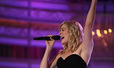 LeAnn Rimes performs on stage.