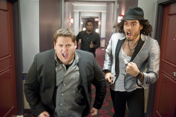 "Jonah Hill and Russell Brand star in ""Get Him to the Greek,"" a spin off from ""Forgetting Sarah Marshall"""
