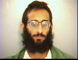 Anwar al Awlaki's booking photo after he was arrested in San Diego on April 5...