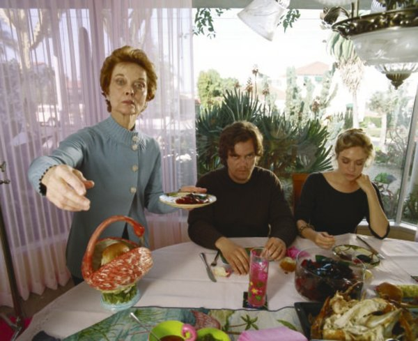 "Still life: Grace Zabriskie, Michael Shannon and Chloe Sevigny in ""My Son. My Son, What Have Ye Done"""