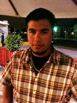 Humberto Navarrete - a witness to the deadly struggle between federal border agents and Anastasio Hernandez. Navarrete recorded a cell phone video of the incident.
