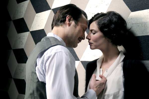 "Mads Mikkelsen and Anna Mouglalis star as the title characters of ""Coco Chanel and Igor Stravinsky"""