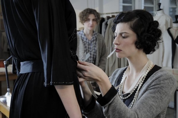 "Anna Mouglalis stars as the famous designer in ""Coco Chanel and Igor Strvinsky"""