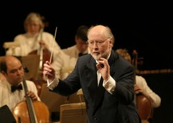 Composer and conductor John Williams, shown here at Film Fest 2007, conducted...