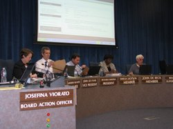 The San Diego Unified Board of Education.