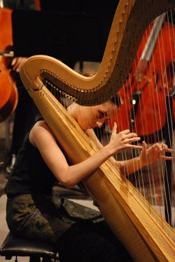 Coline-Marie Orliac plays the USA International Harp Competition