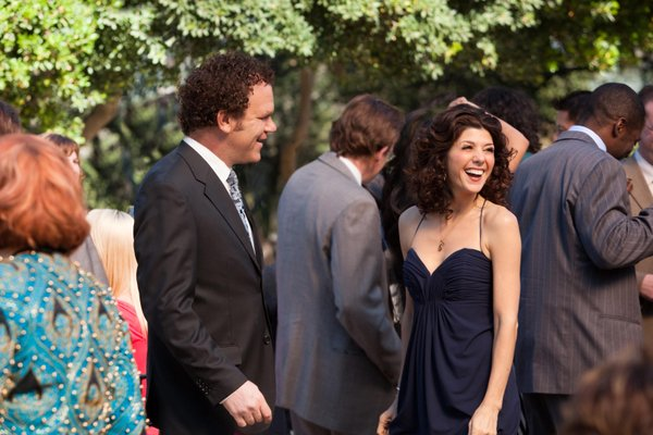 "John C. Reilly and Marisa Tomei try to get their groove on in ""Cyrus"""