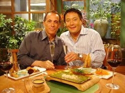 Special guest chef Geoffrey Zakarian visits the studio to honor Ming's master...