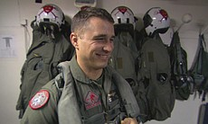 "Brian Foster served as an F-18 pilot and director of safety and standardization with Marine Fighter Attack Squadron 232 (VMFA-232), also known as ""The Red Devils,"" during the deployment featured in ""Carrier."""