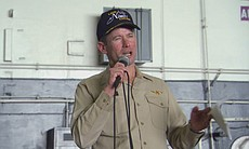 Ted Branch served as captain and commanding officer of the USS Nimitz during ...