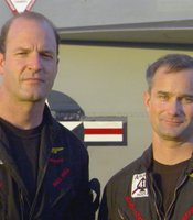 "Dell Bull served as the executive officer and an F-18 pilot and David Fravor served as commanding officer and an F-18 pilot for Strike Fighter Squadron 41 (VFA-41), also known as ""The Black Aces,"" during the deployment featured in ""Carrier."""