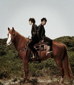 MGMT will be horsing around tonight at SDSU's Open Air Theatre.
