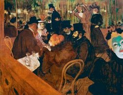 "Toulouse-Lautrec's ""At the Moulin Rouge"""