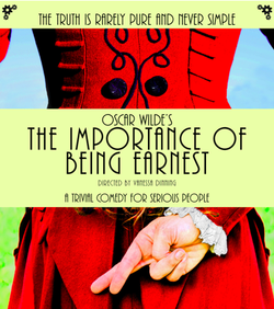 Oscar Wilde's The Importance of being Ernest is playing this month at the Cor...