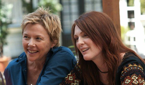 "Annette Bening and Julianne Moore are a lesbian couple facing something of a marital crisis in ""The Kids are All Right"""