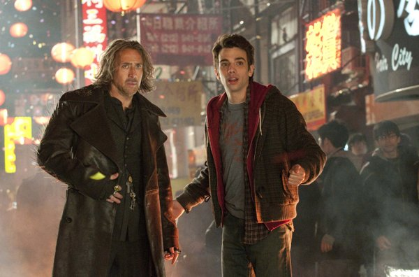 "Nicolas Cage looks pretty good for being centuries old and Jay Baruchel is his reluctant student in ""The Sorcerer's Apprentice"""