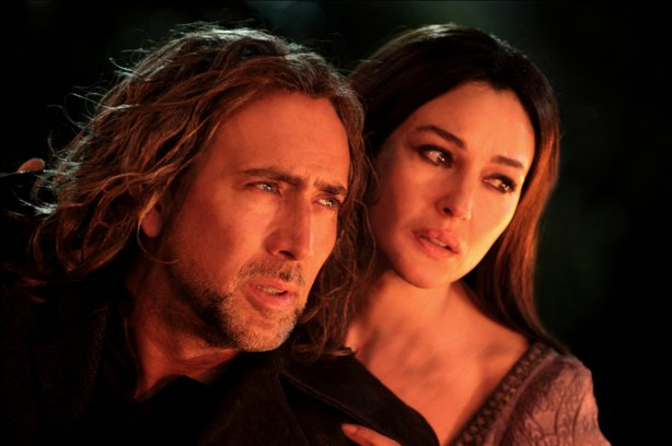 "Nicolas Cage and Monica Bellucci share a love over the centuries in ""The Sorcerer's Apprentice"""