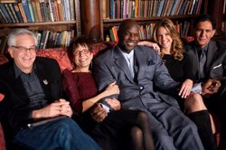 The five history detectives (from L-R) Wes Cowan, Gwen Wright, Tukufu Zuberi,...