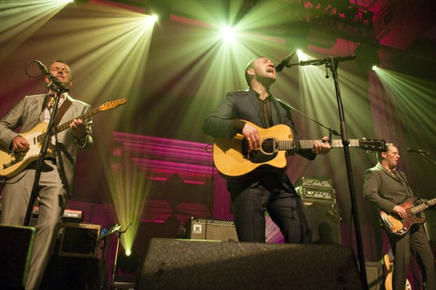"The second season of ""Live From The Artists Den"" features a performance by David Gray (center) recorded January 5, 2010, Broad Street Ballroom, New York, NY."