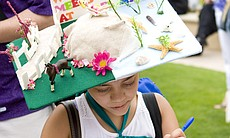 Kids are eligible to sign up for the hat competitions as well.