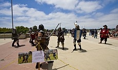 Today I discovered that the Society for Creative Anachronism stages combats o...