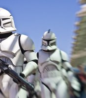 Today was Star Wars Day at Comic-Con International, which always means stormtroopers on the move.