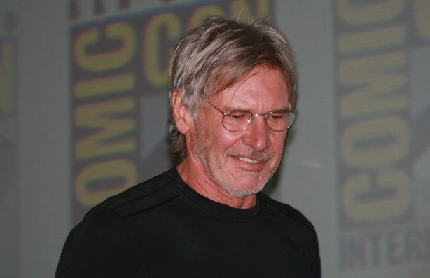 Harrison Ford made his first Comic-Con appearance.