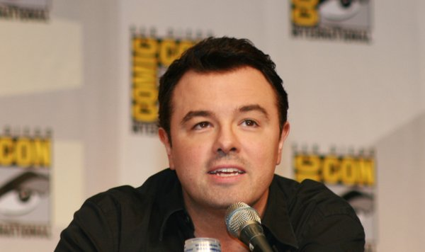 "Seth McFarlane entertained people at the ""Family Guy"" panel."